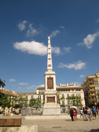 Plaza de la Merced: Monument