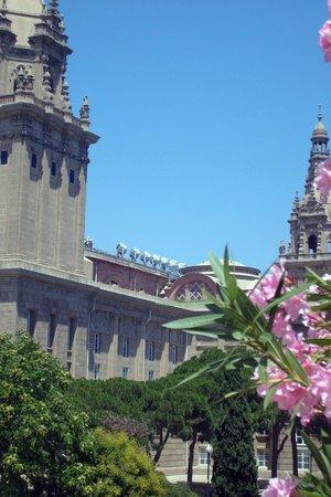 Parc de Montjuic : Барселона в цвету