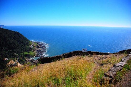Cape Perpetua Scenic Area: Dramatic Coastal View - Cape Perpetua trail