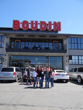 Boudin's Bakery & Cafe: Boa pedida