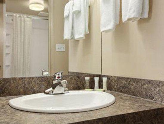 Super 8 Saskatoon Near Saskatoon Airport: Bathroom