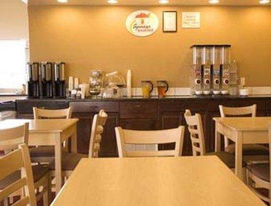 Lone Star Hotel: Breakfast Area