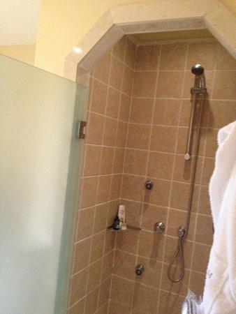 Gran Castillo Tagoro Family & Fun Playa Blanca : Jaccuzzi Shower