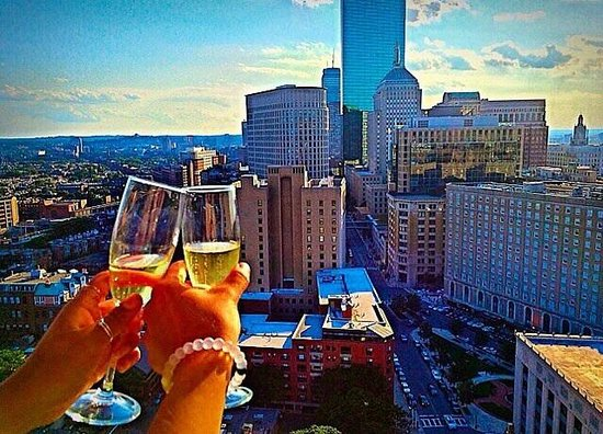 Revere Hotel Boston Common: Perfect view