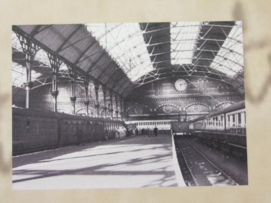 The Wilfred Owen Story: Photo of Woodside Station when WO's father was Assistant Station Master there