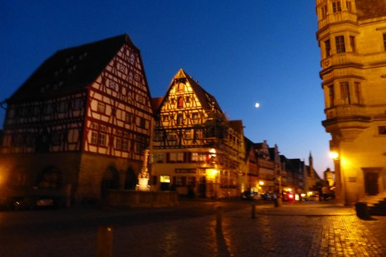 Rothenburg Town Hall (Rathaus): Town hall area