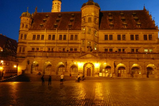 Rothenburg Town Hall (Rathaus): The Town hall