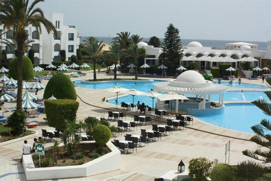 Mahdia Palace Thalasso : Pool area