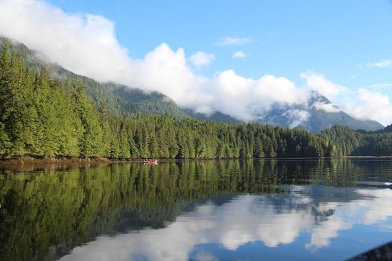 Great Bear Lodge: Tranquil waters near the Lodge