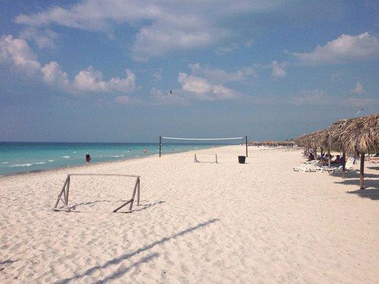 Ocean Varadero El Patriarca: White sand beach! Beautiful