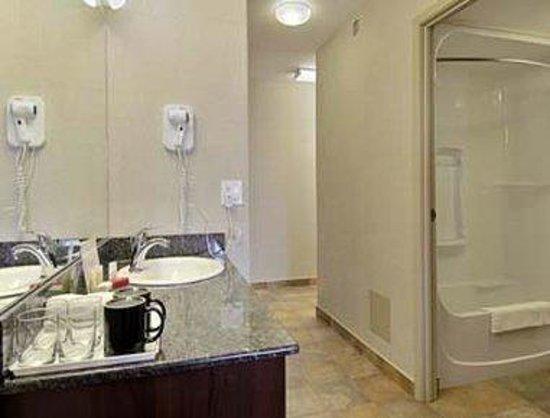 Super 8 Red Deer City Centre: Bathroom