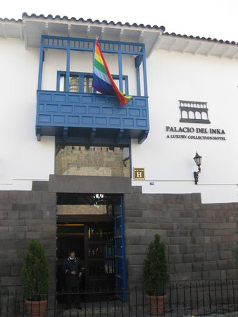 Palacio del Inka, a Luxury Collection Hotel: Outside the Hotel