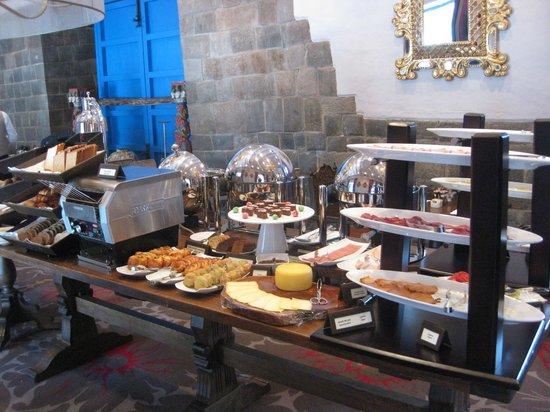 Palacio del Inka, a Luxury Collection Hotel: Buffet Breakfast