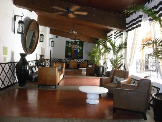 Club Med Ixtapa Pacific: A tiny part of the beautiful reception areas