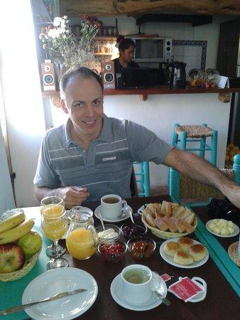 Hosteria Villa Cardon: El desayuno