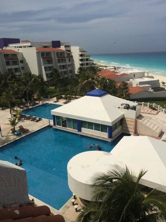 Solymar Cancun Beach Resort: view from room