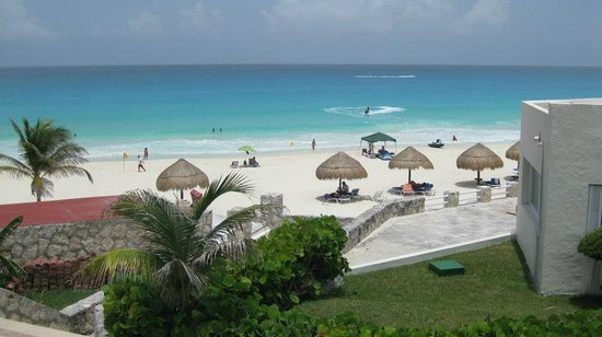 Solymar Cancun Beach Resort: beach
