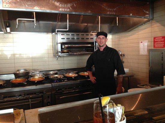 Da Campo Osteria: Pasta Chef Mark Confessore balances more than a dozen handmade pasta sauces & styles simultaneou