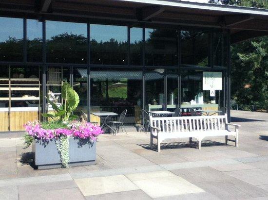 Entrance Cafe Fotograf A De New York Botanical Garden Bronx Tripadvisor