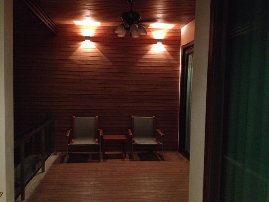 Wyndham Sea Pearl Resort Phuket: our deck