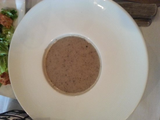 J&K Steakhouse: Cream of Mushroom Soup
