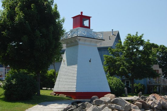 Annapolis Royal Lighthouse : The Annapolis Lighthouse.