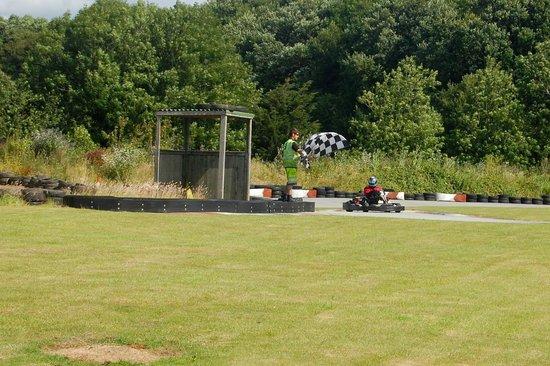 Coast 2 Coast Karting: Finishing Flag