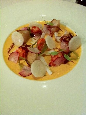 Emilie French Restaurant : Scallop dish