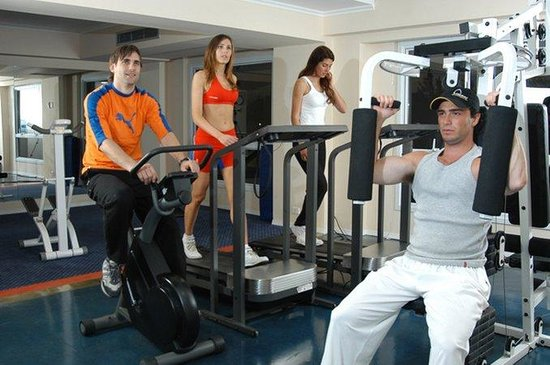 Holiday Inn Cordoba: Gym