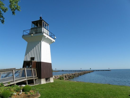 Kent, NY: Oak Orchard (replica) Lighthouse & Museum - lovely stop!