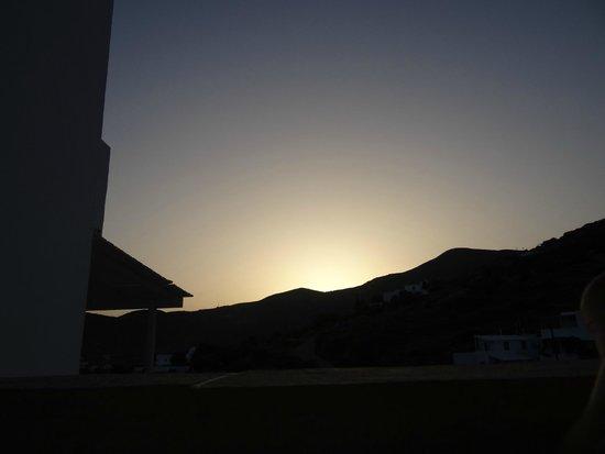 Alexandros Hotel: vue de la cambre