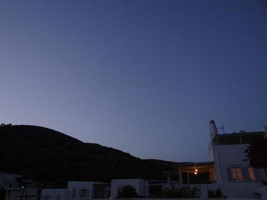 Alexandros Hotel: vue de la chambre ( 2)