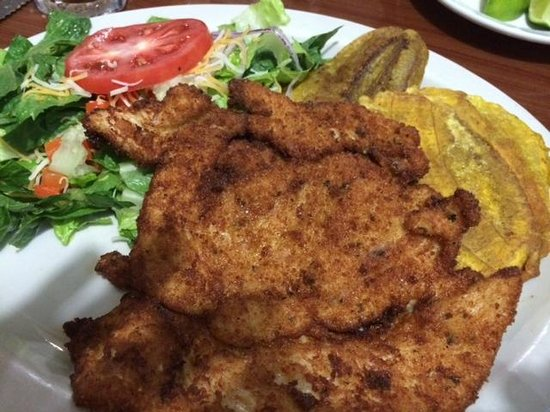 Las Palmas: Chicken Cutlet