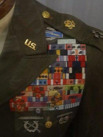 MacArthur Memorial: Incredible rack of ribbons and awards