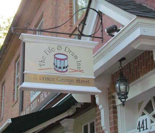 Fife & Drum Inn: You are Here!
