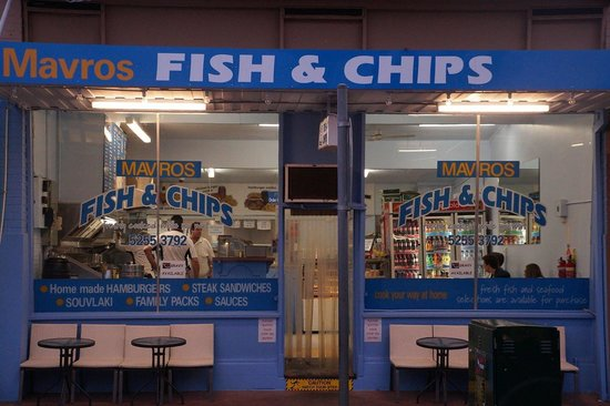 Mavros fish and chips