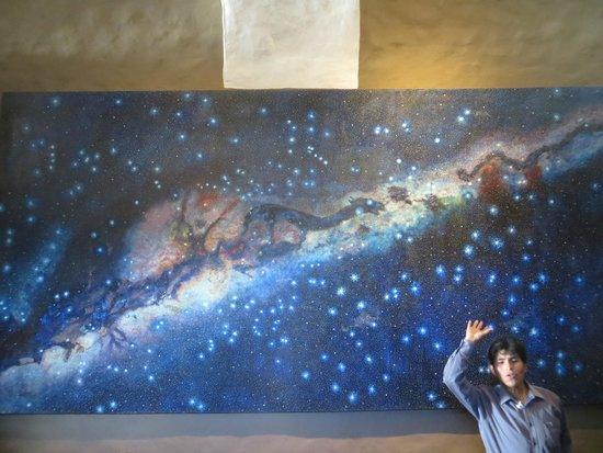 Museo de sitio del Qoricancha: Qorikancha - quadro a via láctea