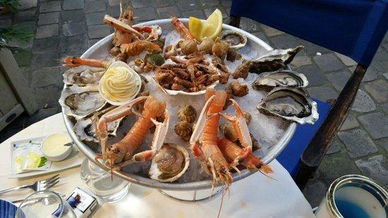 La Marée de Versailles : Fruits de mer