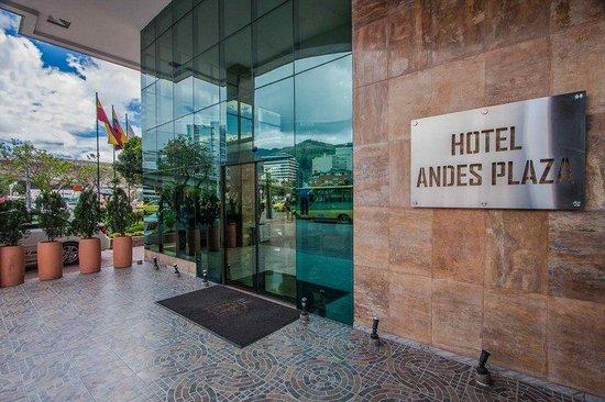 Hotel Andes Plaza: Entrance