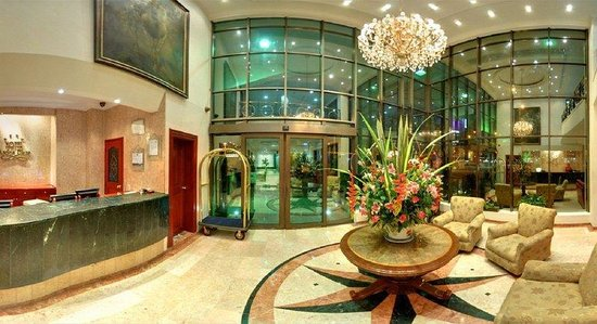 Hotel Andes Plaza: Lobby  - Reception