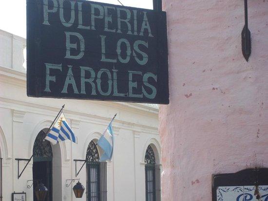 Pulperia de los Faroles: Placa