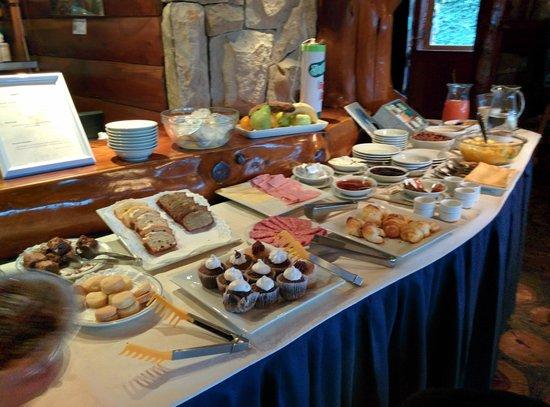 Nido del Condor Hotel & Spa: desayuno