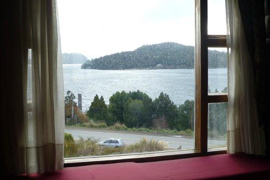Nido del Condor Hotel & Spa: vista desde habitacion