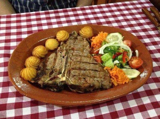 Jardim Rustico: T-Bone Steak