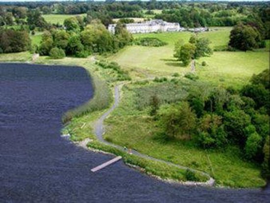 Bloomfield House Hotel, Leisure Club & Spa: Aerial view