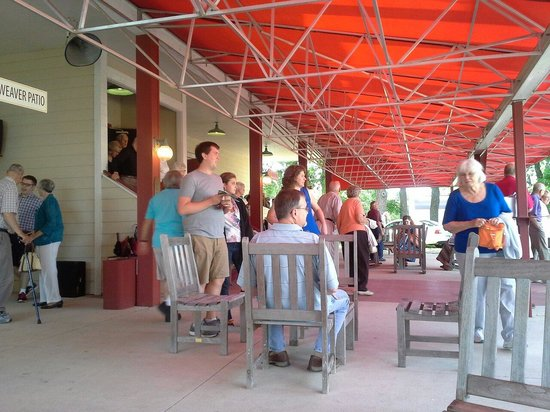 Okoboji Summer Theatre: Weaver patio