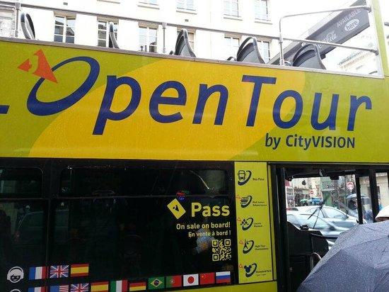 L'Open Bus Tour : L'Open Tour