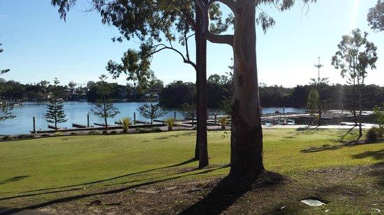 InterContinental Sanctuary Cove Resort: Looking towards the marina