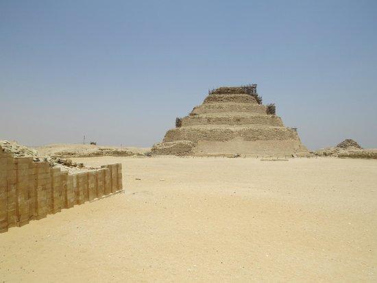 Step Pyramid of Djoser: Piramide Escalonada