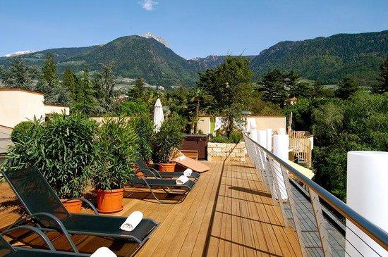 Park Hotel Mignon & Spa: Dachterrasse - terrazza sul tetto - roof terrace